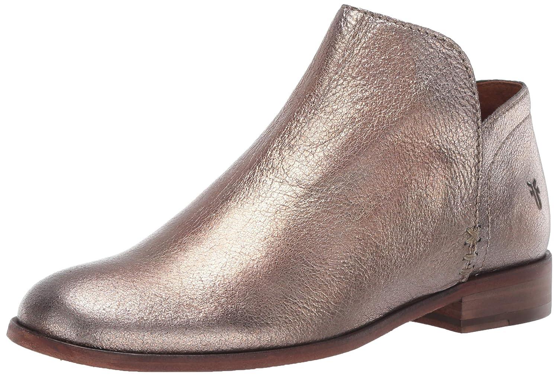 golden Silver Frye Women's Elyssa Shootie Ankle Boot