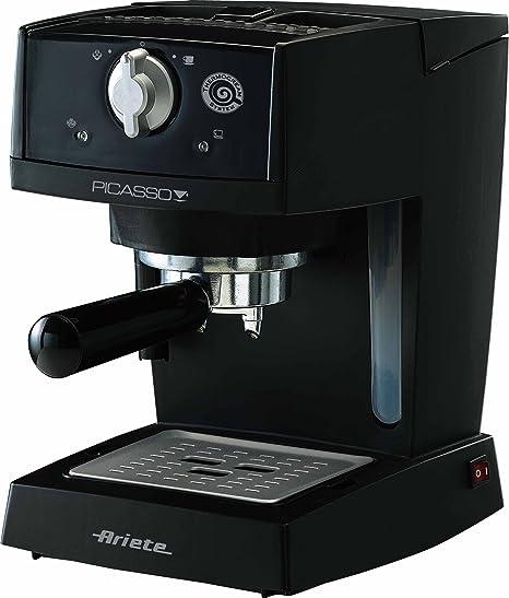 Ariete Picasso - Cafetera (Independiente, Negro, Goteo, Café expreso, 0,9L, 15 barra): Amazon.es: Hogar