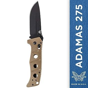 Amazon.com: Benchmade Adamas 275 - Cuchillo de punta caída ...