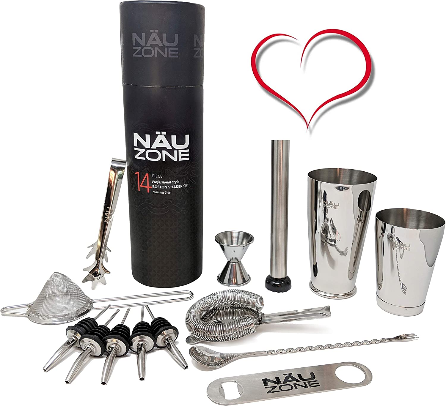 NÄU Zone's bartender kit