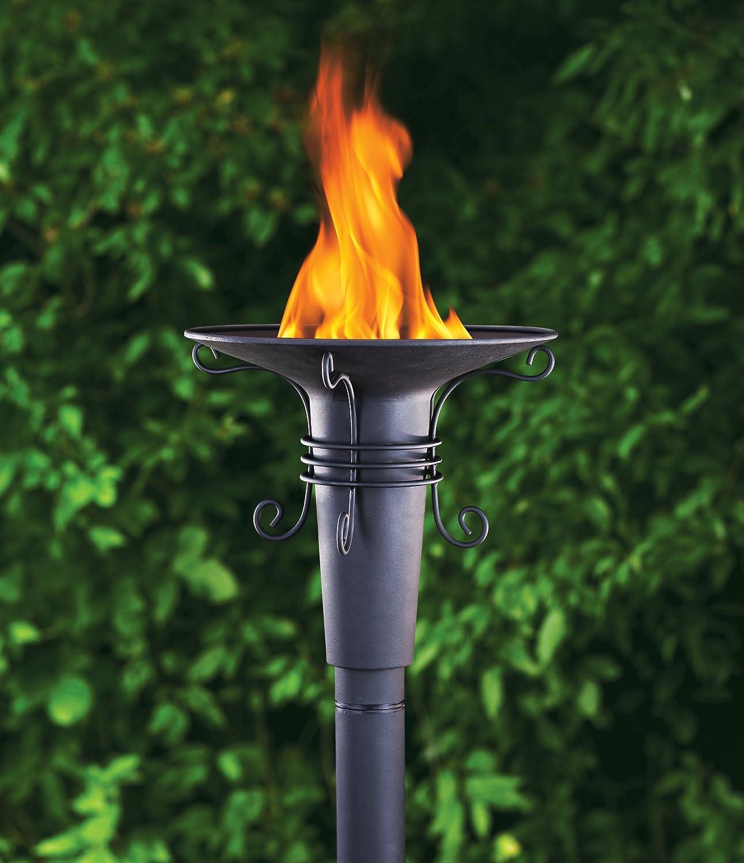 Amazon.com : TIKI 1108471 Renaissance Patio Torch : Landscape Torch Lights  : Garden U0026