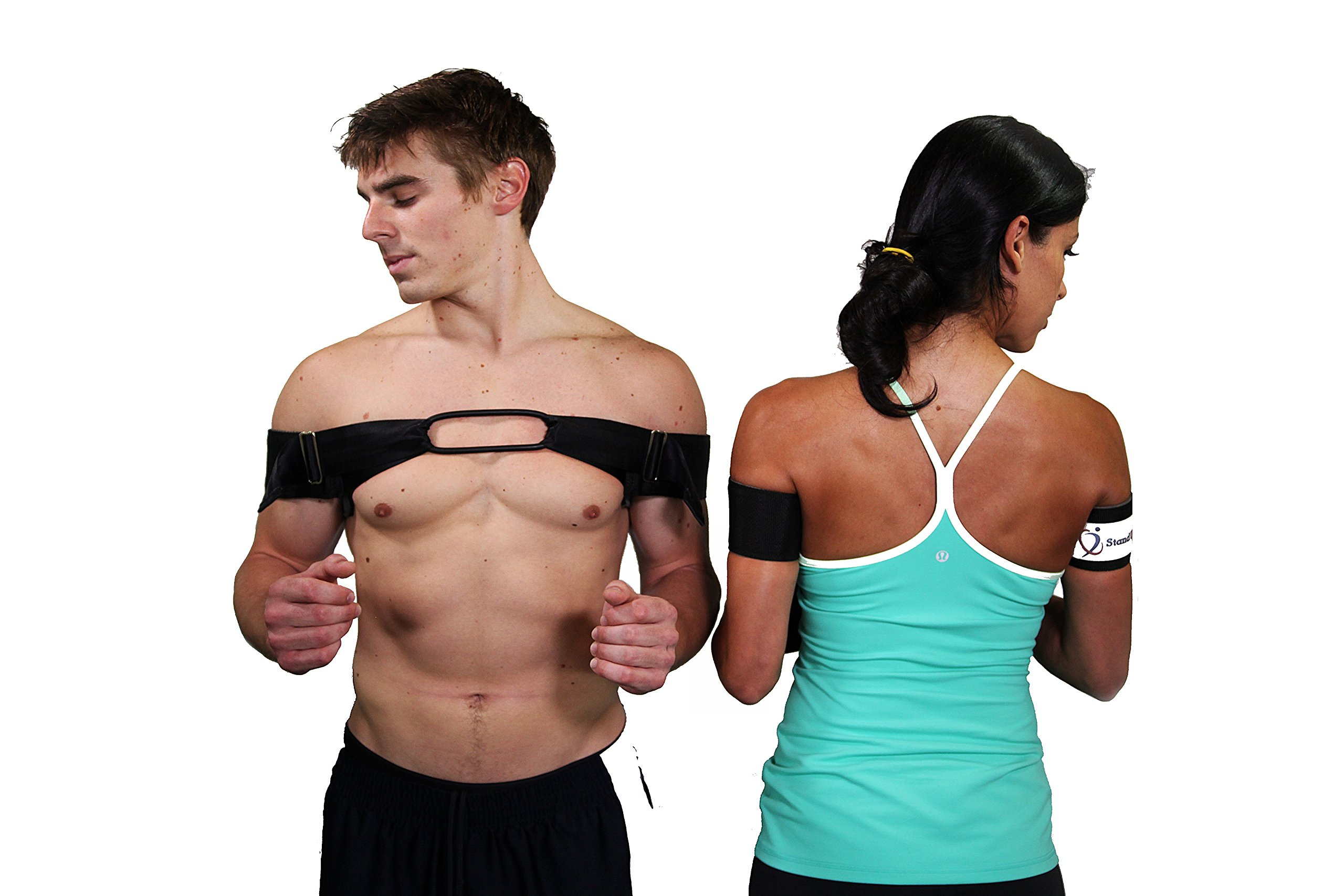 Stand Up Str8 Posture Corrector, Middle Back Exerciser, Fixes Rounded, Hunched Position, Strengthens Posterior Shoulder Blade Muscles by Stand Up Str8