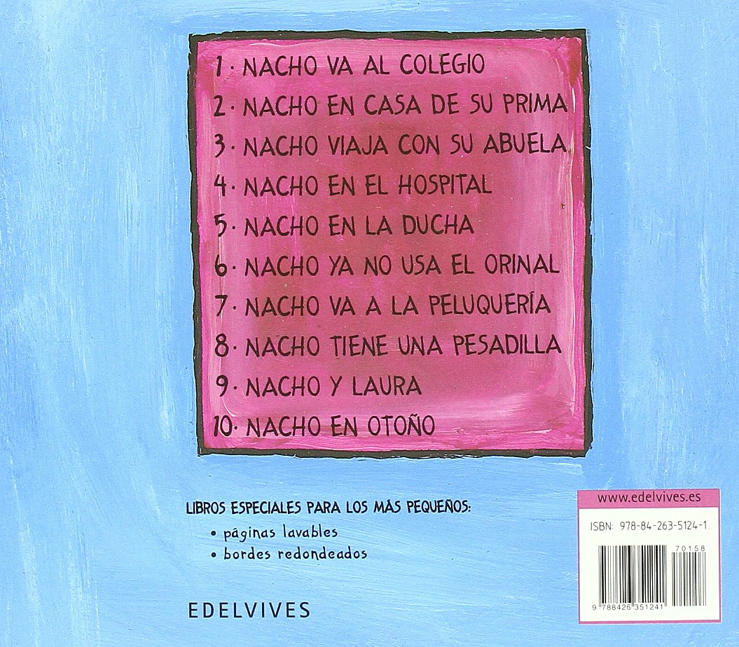 Nacho ya usa el orinal/ Nacho Now Uses the Toilet (Spanish Edition): Liesbet Slegers: 9788426351241: Amazon.com: Books