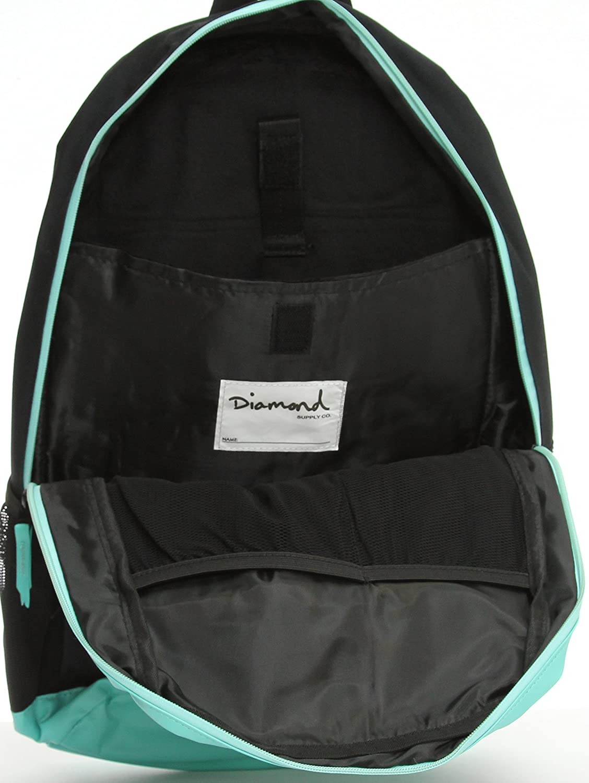 B01D7N6TG0 Diamond Supply Co. School Life Backpack-Black/Blue 81X2Cfj6r6L