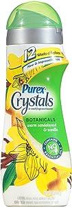 Purex Crystals In-Wash Botanicals Fragrance Booster, Warm Vanilla/Sandalwood, 18 Ounce