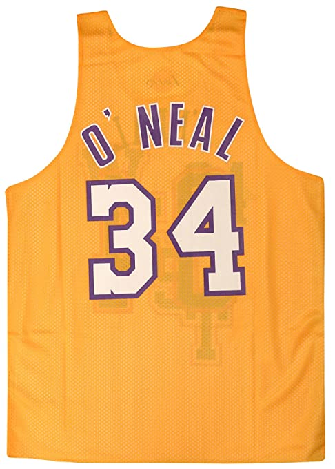453cf9e3d Amazon.com   Mitchell   Ness Shaquille O Neal  34 Los Angeles Lakers 2004  All Star Game Reversible Mesh Tank Top   Clothing