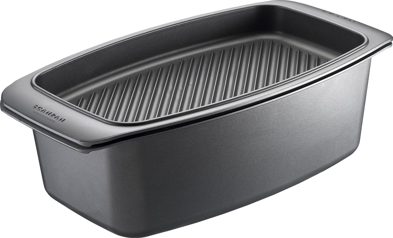 SCANPAN Classic - Fuente de horno con tapa de parrilla (40 x 22 cm ...