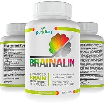 Amazon Com Brain Supplement Nootropics Natural Supplements