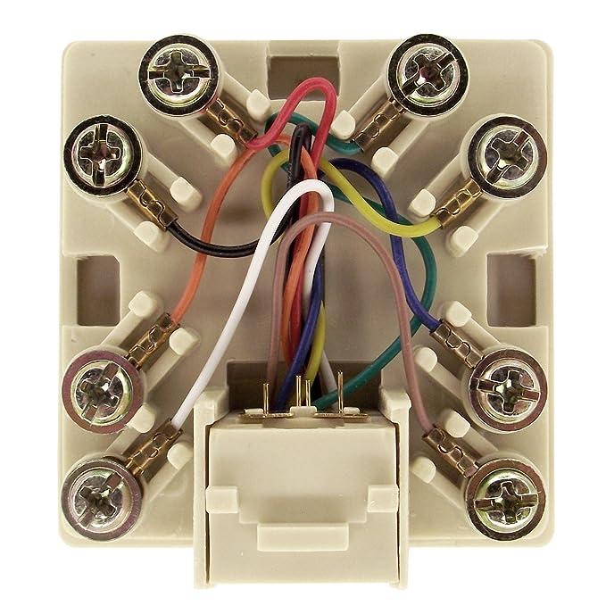 amazon com shaxon ul133w b rj31x jack rj45 to screw terminals rh amazon com