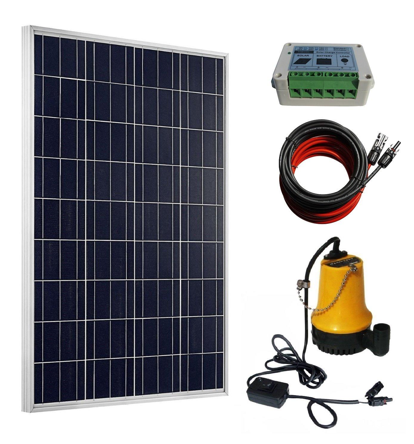 ECO-WORTHY 100W Solar Water Pump Kit