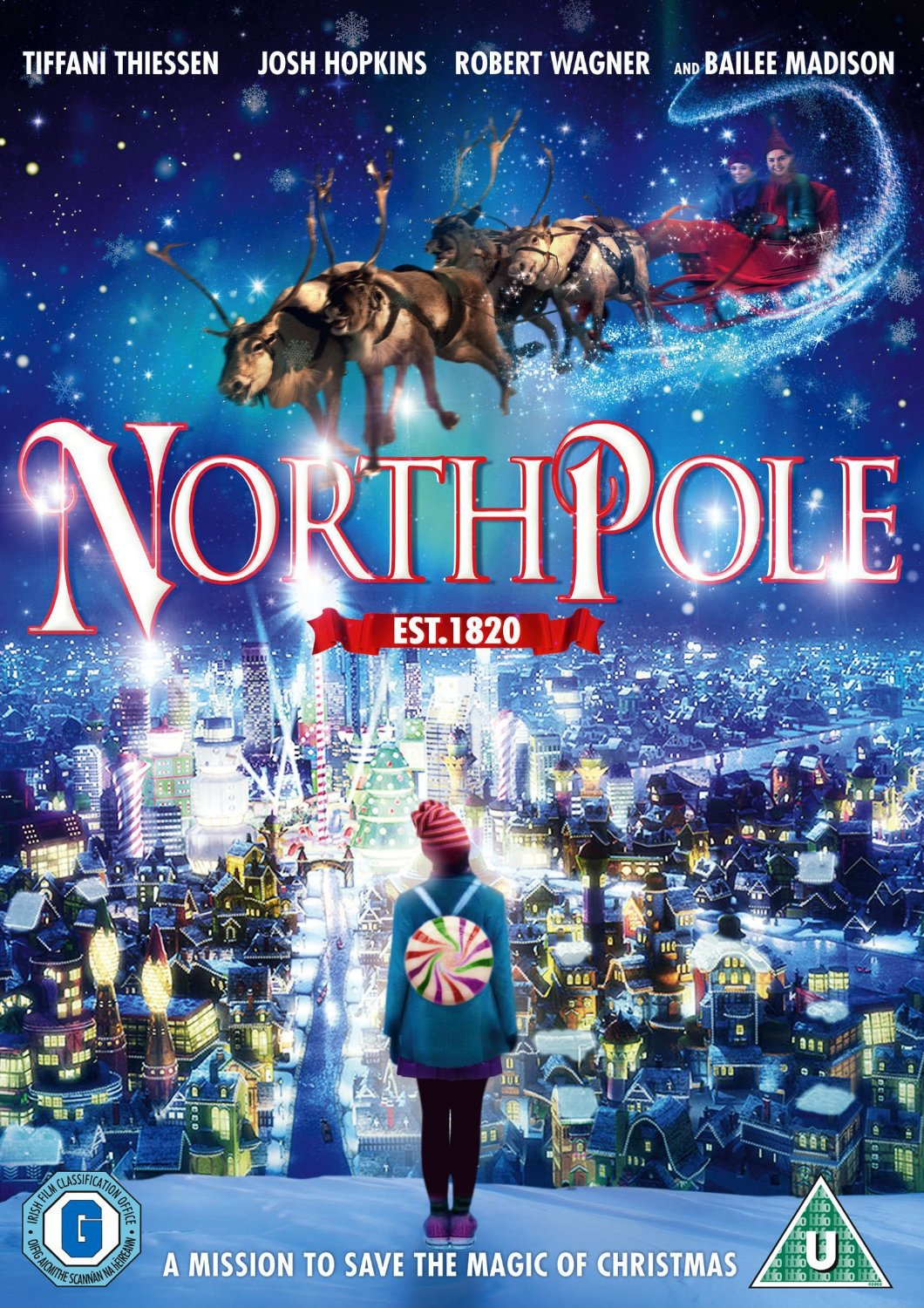 Northpole [DVD]: Amazon.co.uk: Tiffani Thiessen, Josh Hopkins ...