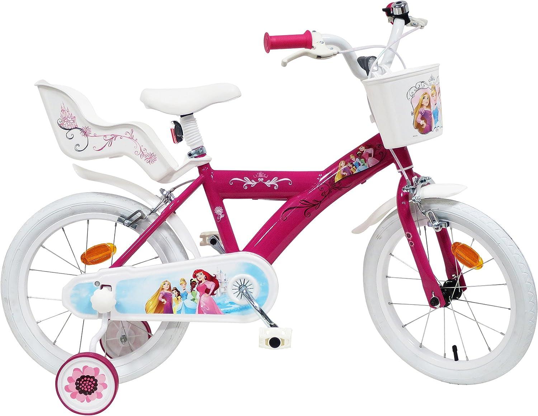 EDEN-BIKES Bicicleta de 16 Pulgadas, niña, con 2 Frenos, Bicicleta ...