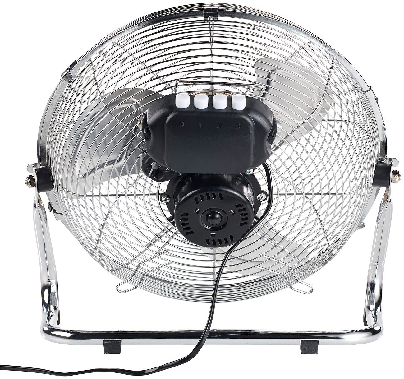 /Ø 30 cm 55 W Retro Ventilator Sichler Haushaltsger/äte Windmaschine: Vollmetall-Bodenventilator mit 3 Geschwindigkeitsstufen