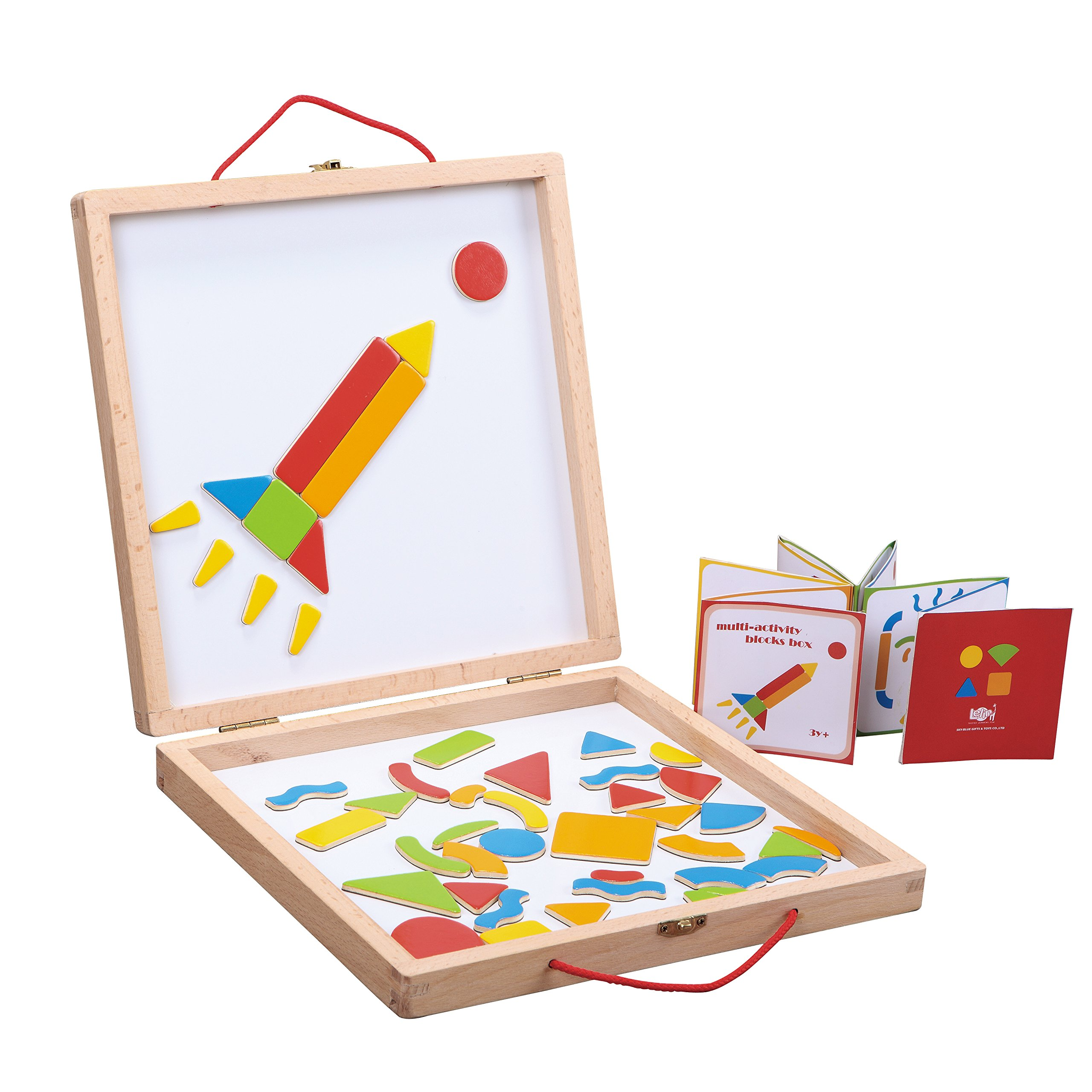Fat Brain Toys Magnetic Creation Station Arts & Crafts for Ages 3 to 4 by Fat Brain Toys