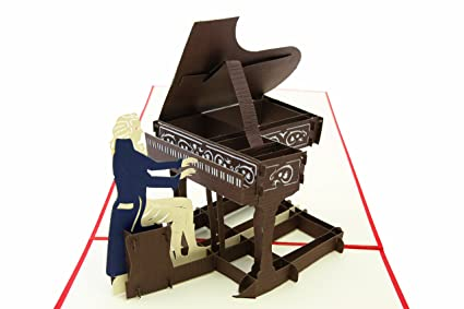Amazon Poplife Grand Piano Pop Up Card For All Occasions