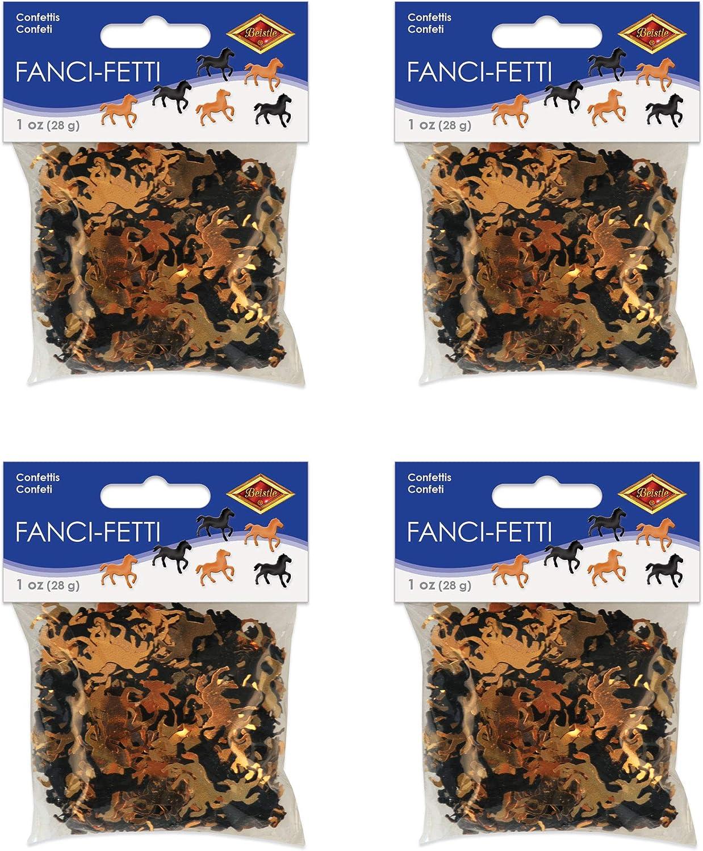 Western Horses Fanci Fetti Confetti