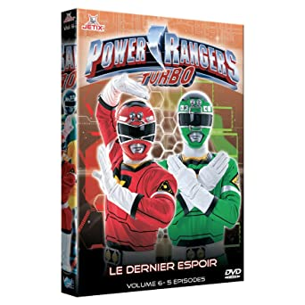 Power rangers turbo, vol. 6 [Francia] [DVD]