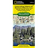 Carson-Iceberg, Emigrant, and Mokelumne Wilderness Areas [Eldorado, Humboldt-Toiyabe, and Stanislaus National Forests] (National Geographic Trails Illustrated Map)