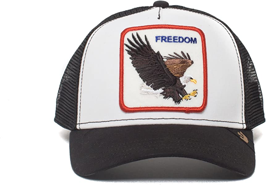 Animal Farm Freedom Eagle Snapback Trucker Hat White. Goorin Bros.