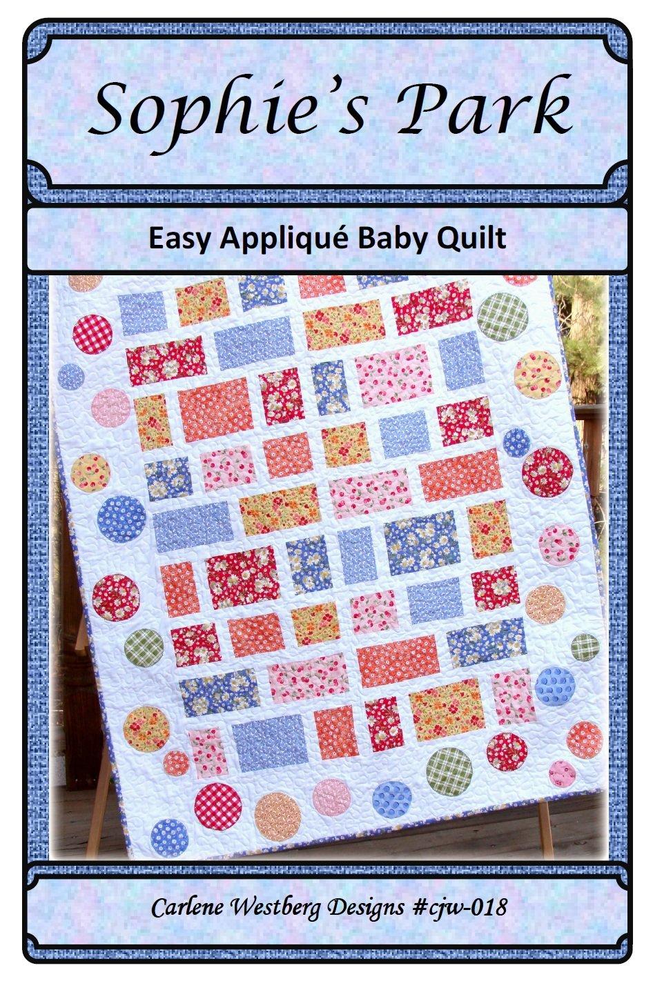 Amazon com: Baby Quilt Pattern Sophies Park cjw-018 Carlene