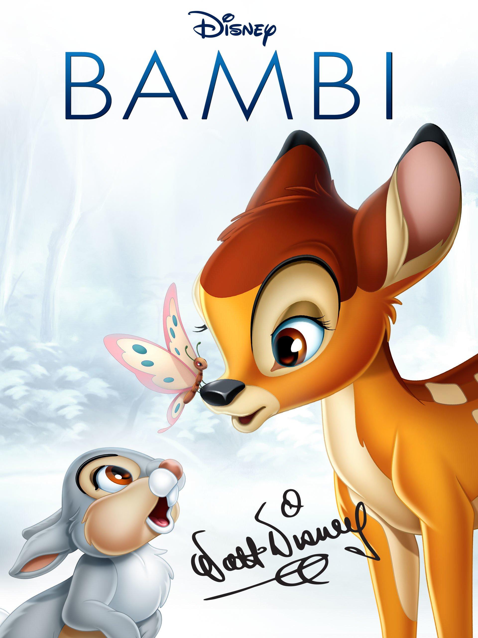 Amazon Com Bambi 1942 Theatrical Version Bobbie Stewart Donald R Dunagan Hardie Albright Peter C Behn