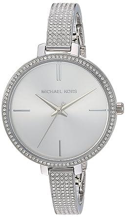 3259fbea83e6 Amazon.com  Michael Kors Women s Jaryn Watch Analog-Quartz Stainless ...