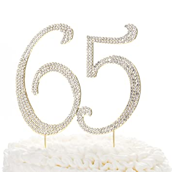 SPARKLERS 65th BIRTHDAY CARD AGE 65 CANDLES FAB BIRTHDAY CUPCAKE