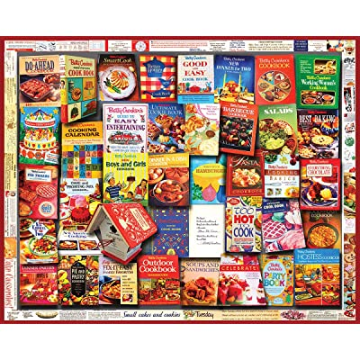White Mountain Puzzles Betty Crocker Cookbooks - 100: Toys & Games