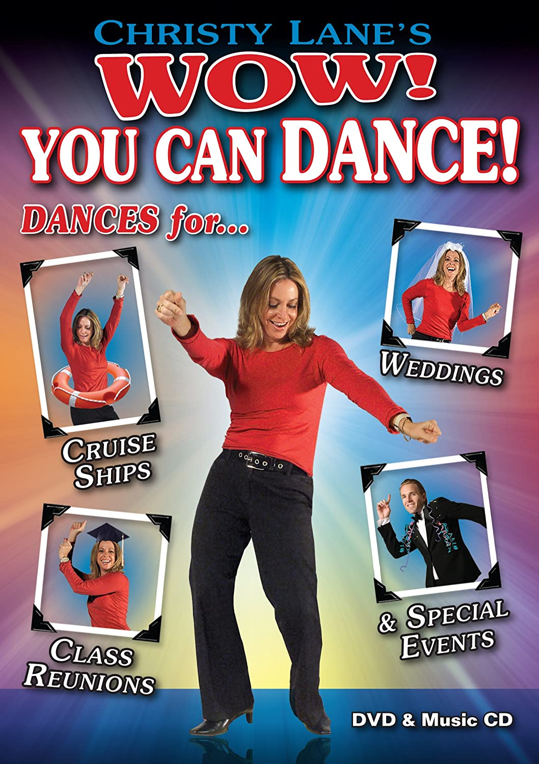 You Can Dance Dances For Cruise Ships Weddings Class Reunions And Special Events DVD CD Combo Christy Lane Rich Oliphant Movies TV