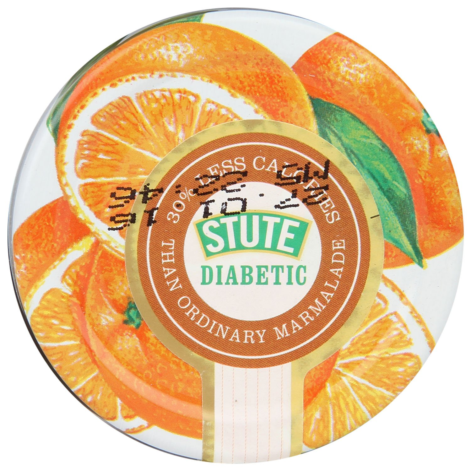 Stute Foods - Diabetic Range - Thick Cut Orange Marmalade - 430g
