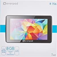 Everest R706, Çift Kamera, 1GB DDR3 1.3GHz, 8GB, 6.0 Marshmallow, Android 7, Mavi