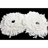 Pack of 2 Replacement Head Refill for Rotating Spin Mop Cleaner