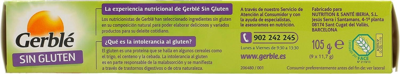 GERBLE galletas bañadas en chocolate caja 105 gr: Amazon.es: Alimentación y bebidas