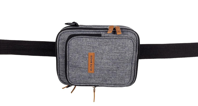 Sac /à bandouli/ère isotherme pour diab/étiques avec impression bicolore FITs EVO d/'Elite Bags Avec gel froid inclus Portez tout ce dont vous avez besoin pour traiter le diab/ète