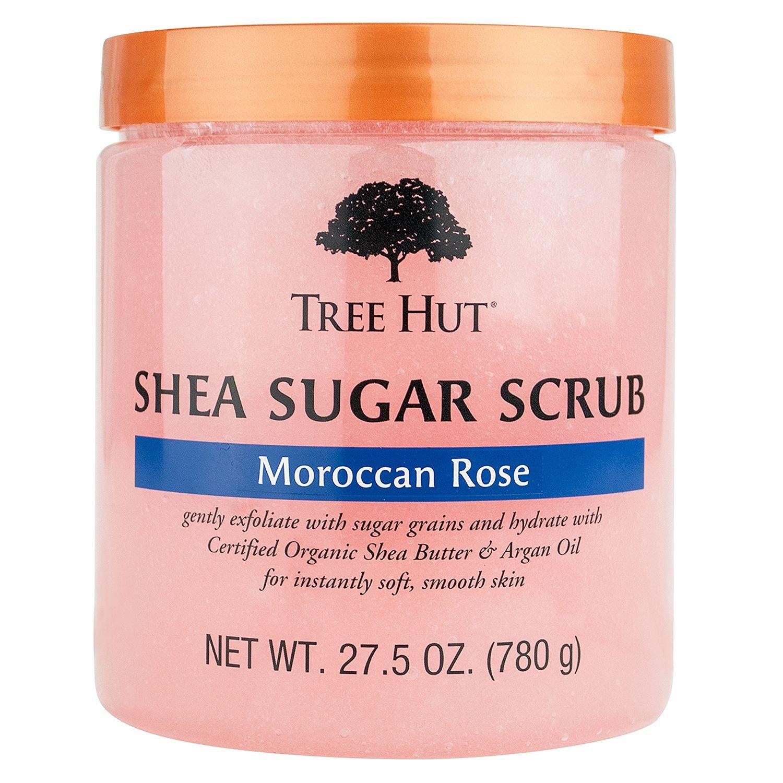 Moroccan Rose Shea Sugar Scrub by tree hut #10