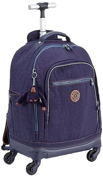 89f31069e75 Kipling Wheeled School Bag with Laptop Sleeve - Echo (Blue Tan Block ...