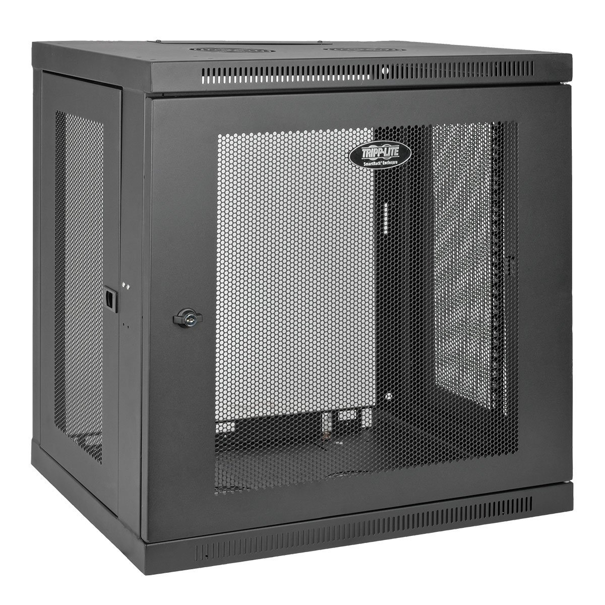 Tripp Lite 12U Wall Mount Rack Enclosure Server Cabinet, 16.5'' Deep, Switch-Depth (SRW12U) by Tripp Lite