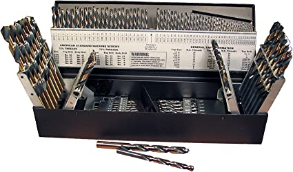M2 High-Speed Steel 1//Card 135-Degree Split Point IVY Classic 01531 No 31 Wire Gauge Drill Bit