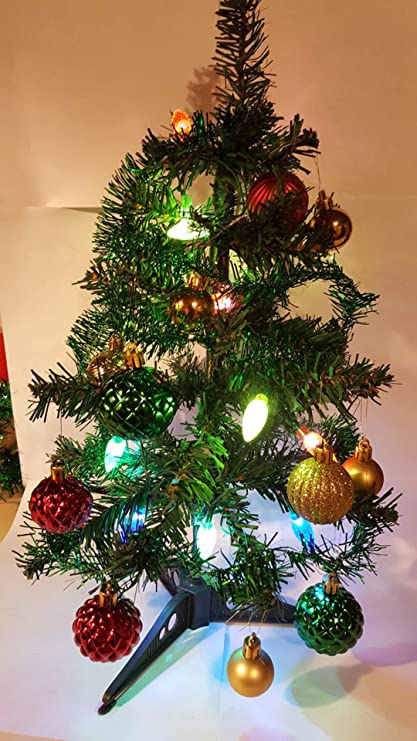 Vintage Artificial Christmas Trees.Amazon Com Very Vintage N More 2 Ft Table Top Mini Small Artificial