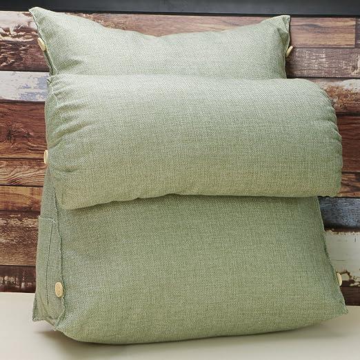 hiltow ajustable triángulo Back cuña cojín almohada sofá ...