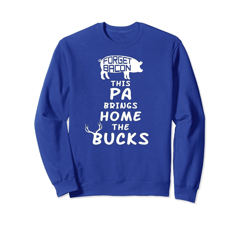 Funny Pa Deer Hunting Gift Sweatshirt-Samdetee