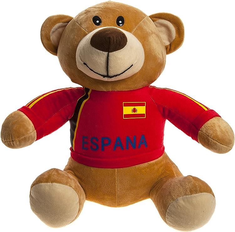 PMS Crazy Football - Oso de Peluche con Camiseta roja Selección ...