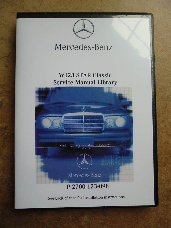 Amazon.com: Mercedes Benz 300D TURBO Diesel Service Repair Workshop Manual  CD 1982 1983 1984 1985: Automotive