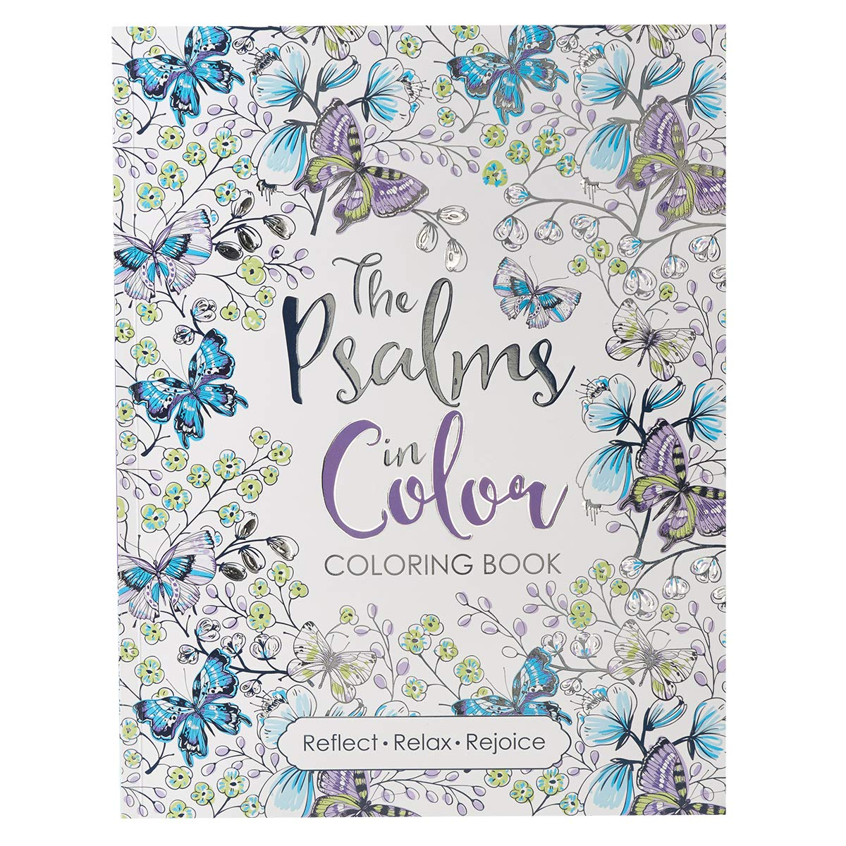 ''The Psalms in Color'' Inspirational Adult Coloring Book