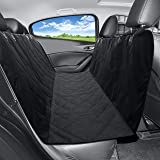 MEKBOK Extra Durable Pet Car Seat Cover for Dogs - Full Length Fit for Most Cars Trucks and SUV'S - Stabilizing Seat Anchors