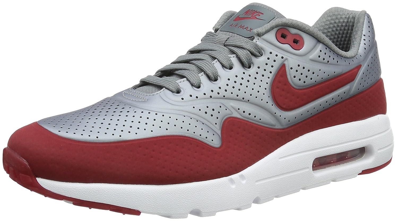 Nike Air Max 1 Ultra Moire Herren Sneakerss  40.5 EU|Grau (Mtlc Cool Grey/Gym Red-white)