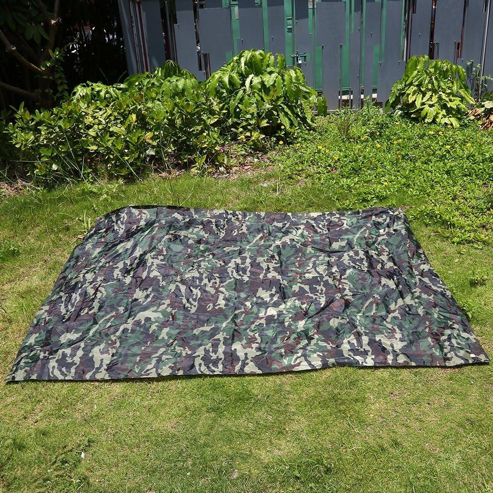 Estera de Picnic Lona Multiusos Impermeable Refugio para Tienda de Campa/ña para Camping Senderismo Picnic Mochileros