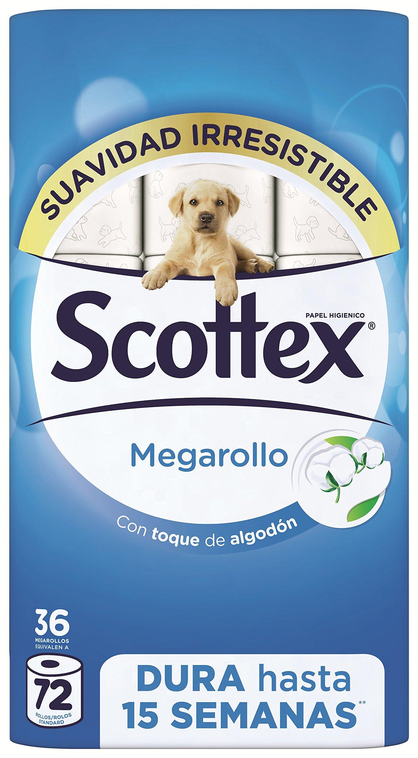 Scottex Megarollo Papel Higiénico - 36 Rollos