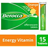 Berocca Energy Vitamin, Orange - 15 Effervescent Tablets