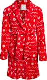 bebe Girls Ultra Soft Plush Robe with Pockets